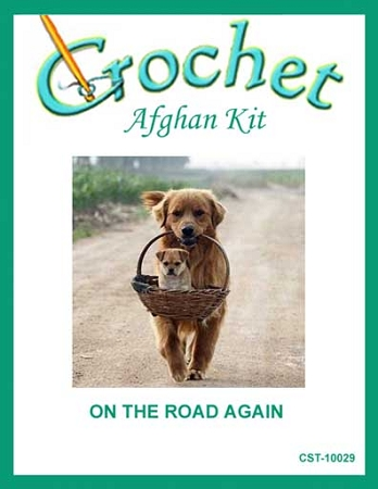 On The Road Again Crochet Afghan Kit