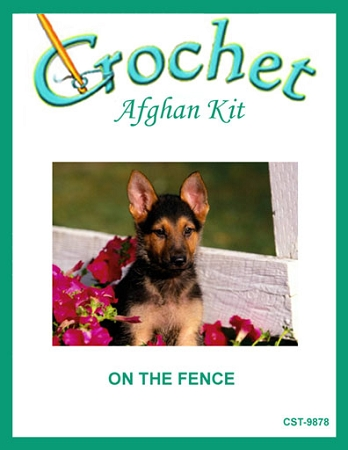 On The Fence Crochet Afghan Kit