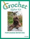 Portuguese Water Dog Crochet Afghan Kit