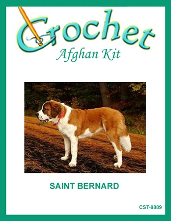 Saint Bernard Crochet Afghan Kit