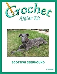 Scottish Deerhound Crochet Afghan Kit
