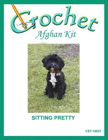 Sitting Pretty Crochet Afghan Kit