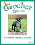Staffordshire Bull Terrier Crochet Afghan Kit