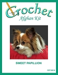 Sweet Papillion Crochet Afghan Kit