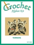Terriers Crochet Afghan Kit
