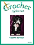 Tibetan Terrier Crochet Afghan Kit