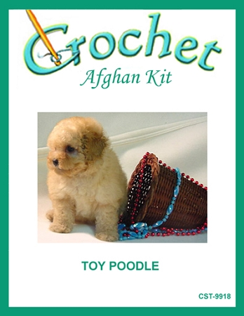 Toy Poodle Crochet Afghan Kit