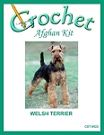 Welsh Terrier Crochet Afghan Kit