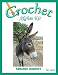 Spanish Donkey Crochet Afghan Kit