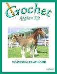 Clydesdales At Home Crochet Afghan Kit