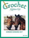 Horses Hanging Out Crochet Afghan Kit