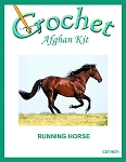 Running Horse Crochet Afghan Kit