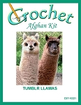 Tumblr Llamas Crochet Afghan Kit