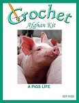 A Pigs Life Crochet Afghan Kit