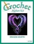 Dragon Hearts Crochet Afghan Kit