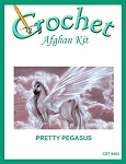 Pretty Pegasus Crochet Afghan Kit