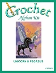 Unicorn & Pegasus Crochet Afghan Kit