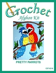 Pretty Parrots Crochet Afghan Kit