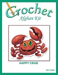 Happy Crab Crochet Afghan Kit