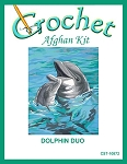 Dolphin Duo Crochet Afghan Kit