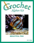 Beautiful Fish Crochet Afghan Kit