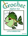 Little Green Fish Crochet Afghan Kit