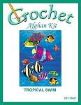 Tropical Swim Crochet Afghan Kit