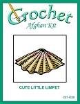 Cute Little Limpet Crochet Afghan Kit