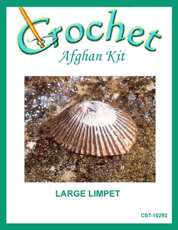 Large Limpet Crochet Afghan Kit