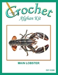 Main Lobster Crochet Afghan Kit