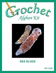 Sea Slugs Crochet Afghan Kit