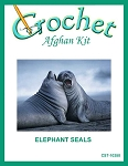 Elephant Seals Crochet Afghan Kit