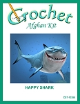 Happy Shark Crochet Afghan Kit