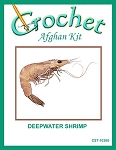 Deepwater Shrimp Crochet Afghan Kit
