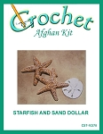 Starfish And Sand Dollar Crochet Afghan Kit