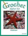 Starfish Crochet Afghan Kit