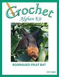 Rodrigues Fruit Bat Crochet Afghan Kit