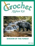 Shadow Of The Forest Crochet Afghan Kit