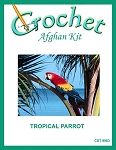 Tropical Parrot Crochet Afghan Kit