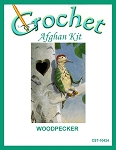 Woodpecker Crochet Afghan Kit