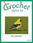 Yellow Bird Crochet Afghan Kit