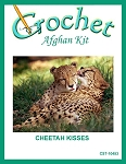 Cheetah Kisses Crochet Afghan Kit