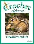 Chipmunk With Peanuts Crochet Afghan Kit
