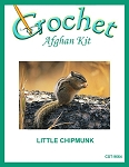 Little Chipmunk Crochet Afghan Kit