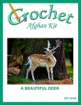 A Beautiful Deer Crochet Afghan Kit