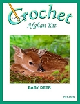 Baby Deer Crochet Afghan Kit