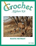 Rustic Retreat Crochet Afghan Kit