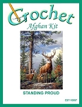 Standing Proud Crochet Afghan Kit