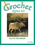 Elk In The Water Crochet Afghan Kit