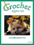 Autumn Moon Fox Crochet Afghan Kit